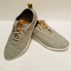 WOMENS DRIZZLE GREY CHAMBRAY MIX CABRILLO SNEAKERS